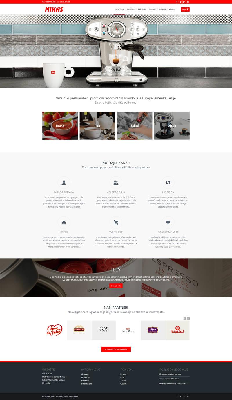 Portfolio - Nikas web stranica