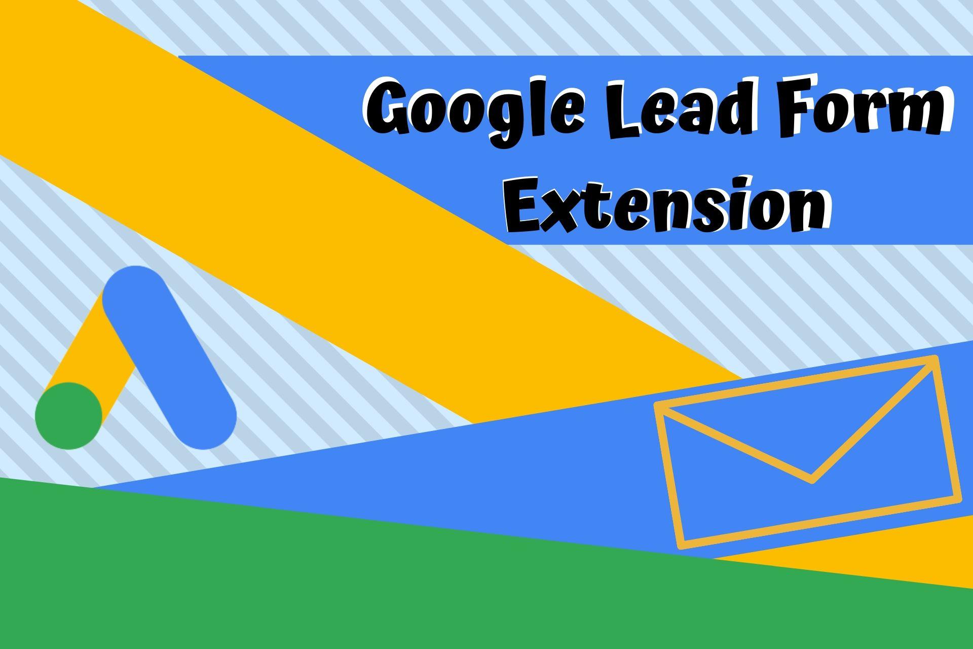 google lead form extenzija