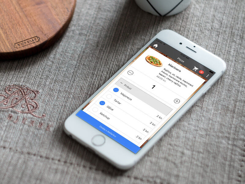 Aplikacija - Pizza Roko