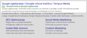 primjer google oglasa